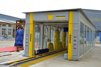 중국 Environmental Protection Express Car Wash Equipment , Safe Automated Car Wash Systems 협력 업체