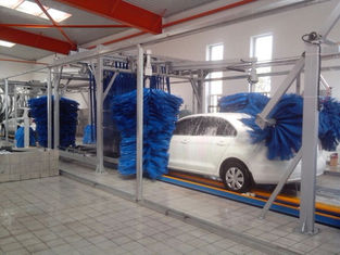 중국 Tunnel Car Wash Systems With Three Color Wax Spraying , Innovation Mode 협력 업체