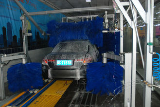 중국 Autobase Car Wash Equipment With Hydraulic And Wheel Brush 협력 업체
