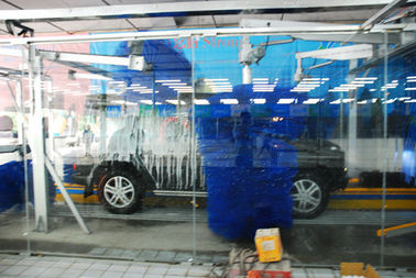 중국 Anti-Corrosion Aluminum Car Wash Equipment With Tripe Color Foam 공장